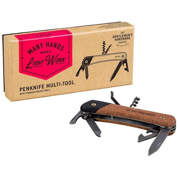 Gentlemen's Hardware - Pen Knife Multi-tool multitool